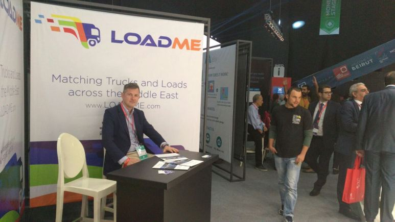 load-me booth at  BDLAccelerate-2016