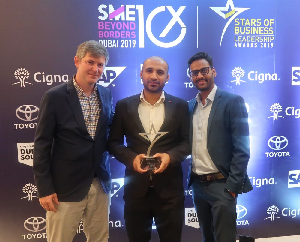 LoadMe team at Stars of Business Awards 2019
