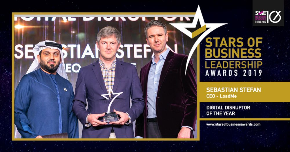 Sebastian Stefan Digital Disruptor Of The Year 2019