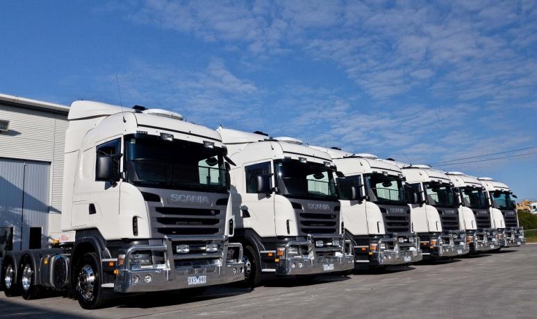 Scania diesel trucks