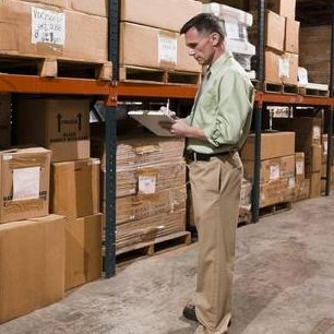 Cargo owner in warehouse